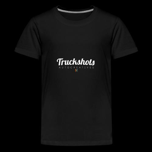 logo with small pistols RGB - Teenage Premium T-Shirt