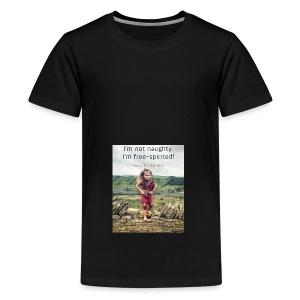 Free-Spirited - Teenage Premium T-Shirt