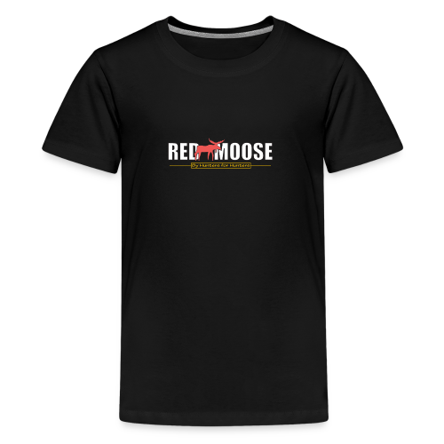 Red Moose logo - Premium-T-shirt tonåring