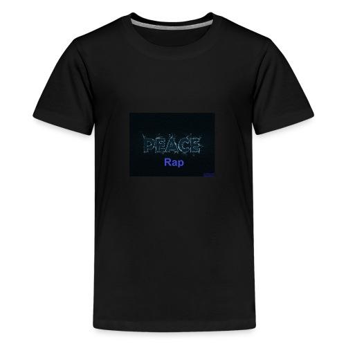 Peace Rap - Teenager Premium T-Shirt