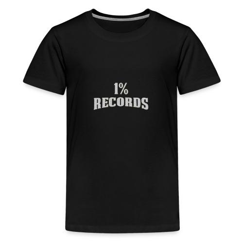 1 Prozent Records Logo - Teenager Premium T-Shirt