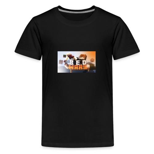 bedwars UNSTOPABLE MERCH - Teenage Premium T-Shirt