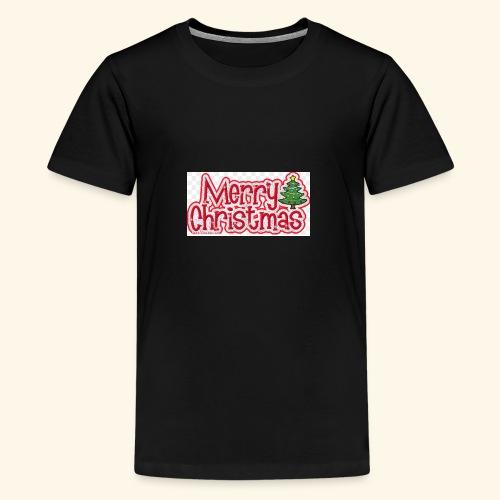 Weihnachtsprodukt - Teenager Premium T-Shirt
