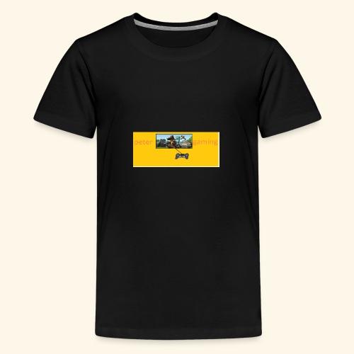 peter gaming - Teenage Premium T-Shirt