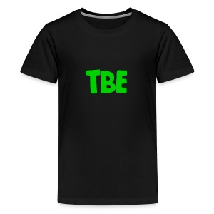 Logo groen - Teenager Premium T-shirt