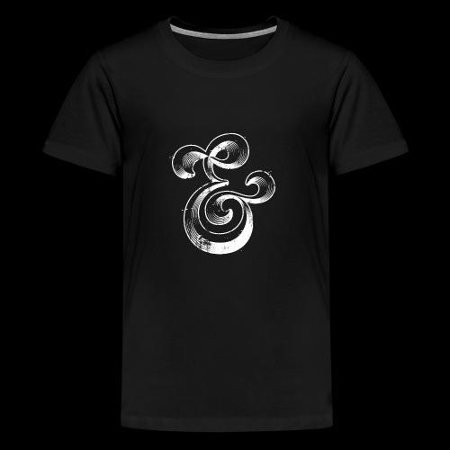 Esperluette - T-shirt Premium Ado