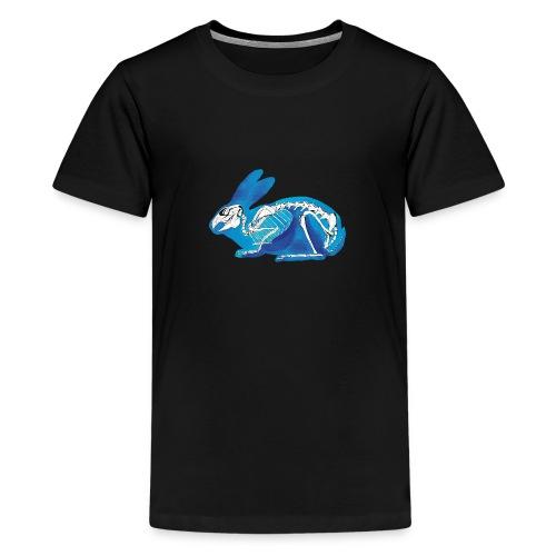 Le lapin bleu - T-shirt Premium Ado