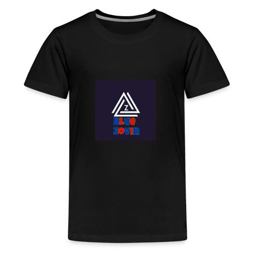 BlueZovinshirt - Teenage Premium T-Shirt
