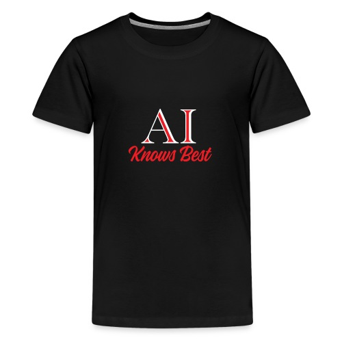 Trust the AI - Teenage Premium T-Shirt