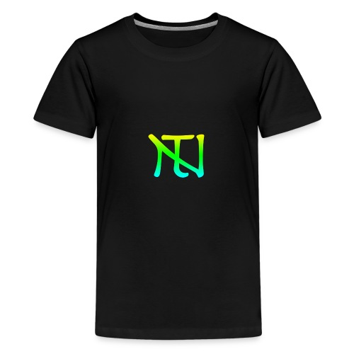 Green Fade Limited Edition - Premium-T-shirt tonåring