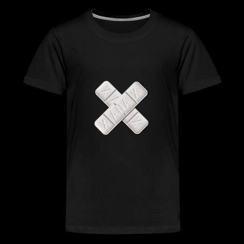 Xanax X Logo - Teenager Premium T-Shirt
