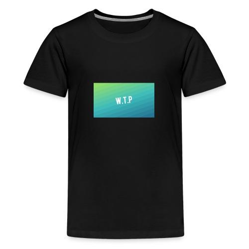 backgrounder 1 - Koszulka młodzieżowa Premium