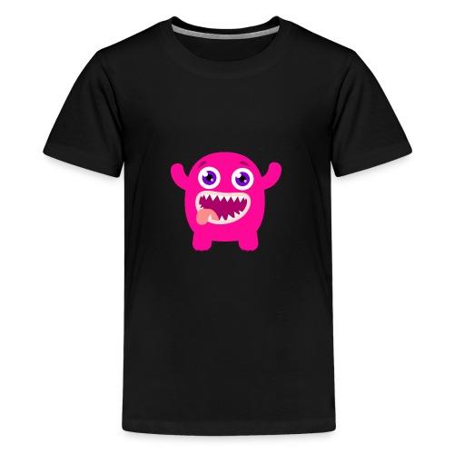 Monstre - T-shirt Premium Ado