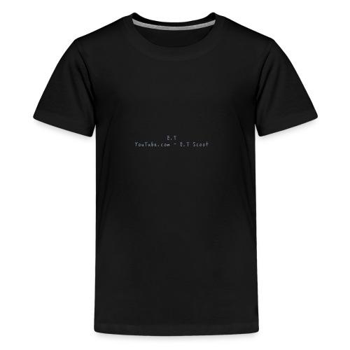 E.T scoot - T-shirt Premium Ado