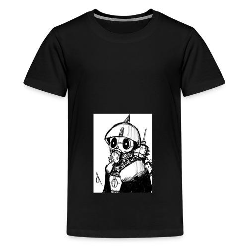 gas man - Camiseta premium adolescente