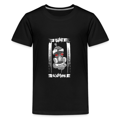 Graffiti is no crime - Teenager Premium T-Shirt