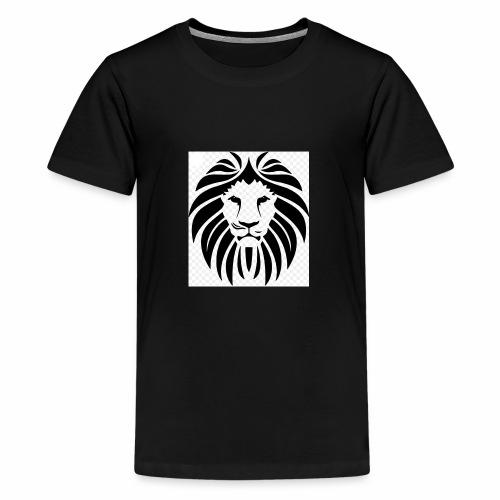 Lion Design - Teenage Premium T-Shirt