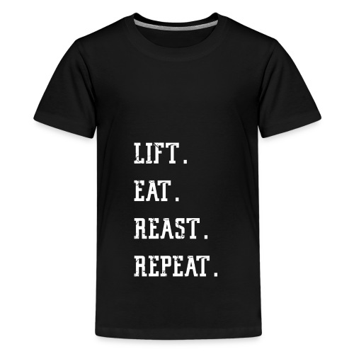 Gym Fitness Shirt for men and women – Yoga - Teenager Premium T-Shirt