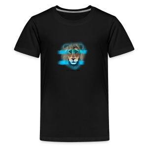 Leo The Lion - Teenage Premium T-Shirt