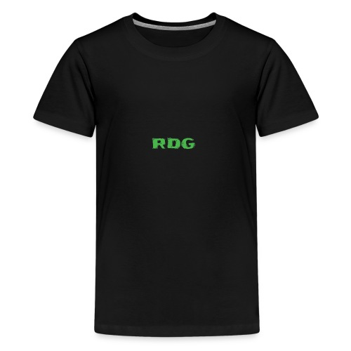 RDG Logo - Ravey D's Gaming - Teenage Premium T-Shirt