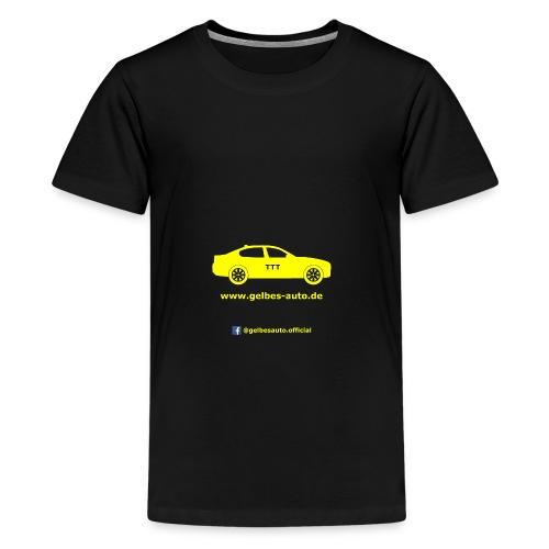 Logo - Facebook - Teenager Premium T-Shirt