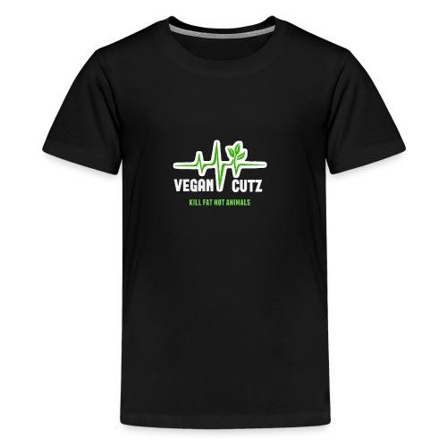 Vegan Cutz - Teenage Premium T-Shirt