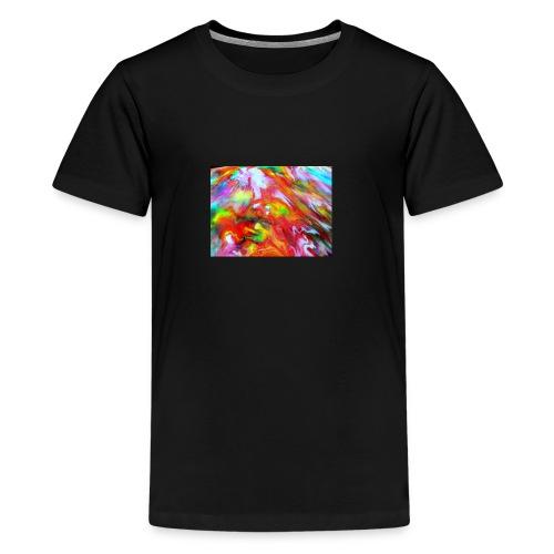 abstract 1 - Teenage Premium T-Shirt
