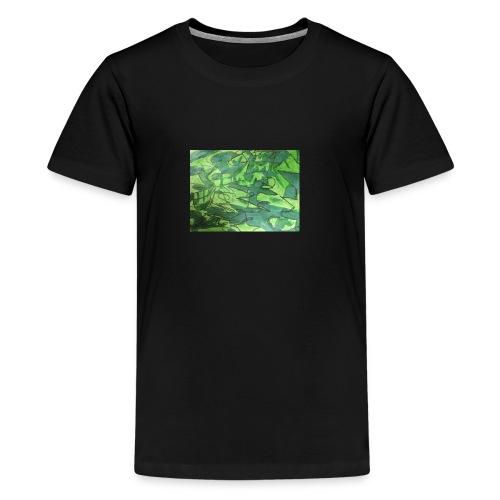 Millitær - Premium T-skjorte for tenåringer