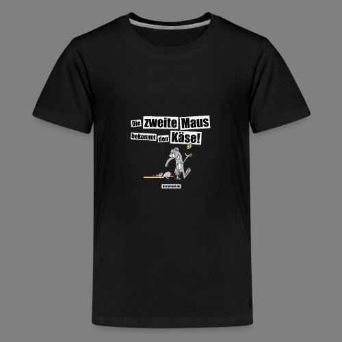 Die zweite Maus - Teenager Premium T-Shirt