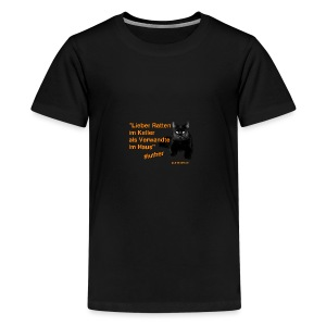 Luther-Zitat - Teenager Premium T-Shirt