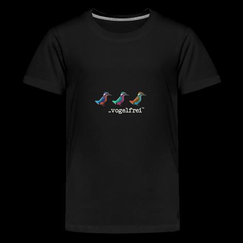 geweihbaer Vogelfrei - Teenager Premium T-Shirt