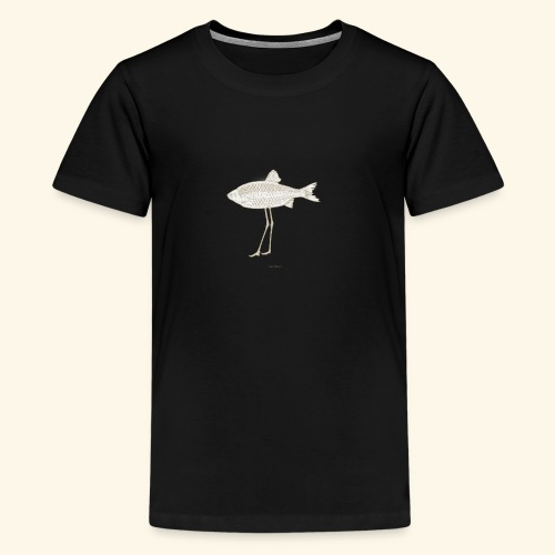 Fence pesce illustrazione - Maglietta Premium per ragazzi