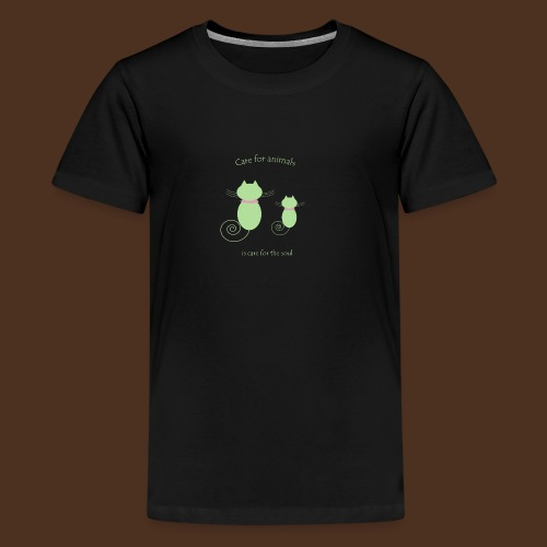 Animal care - Teenage Premium T-Shirt