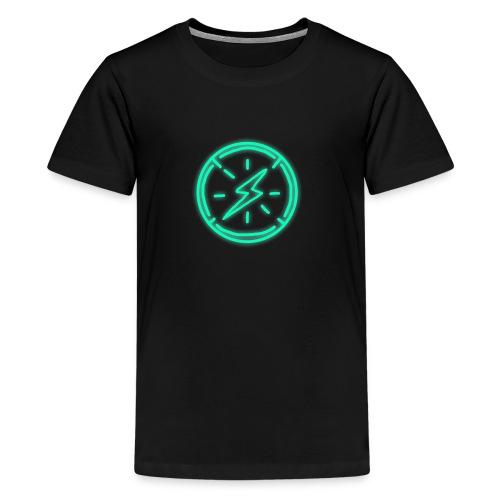Aether Lightning - Teenage Premium T-Shirt