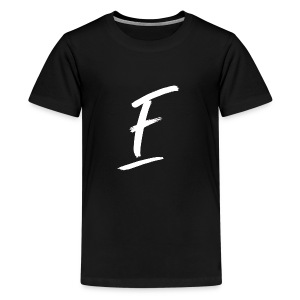 Radio Fugue F Blanc - T-shirt Premium Ado
