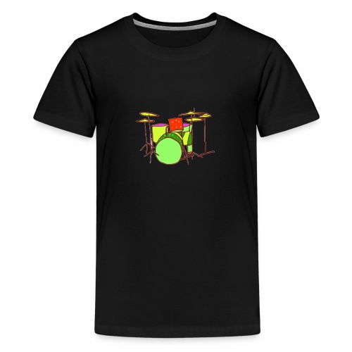 Fantasy Drums - Teenage Premium T-Shirt