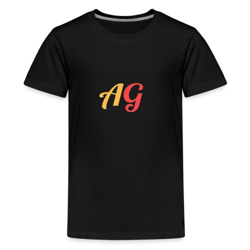 Gekleurde letters - Teenager Premium T-shirt
