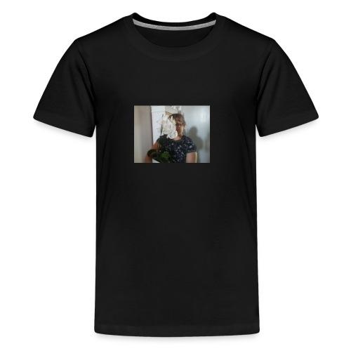 Orchideenmädchen - Teenager Premium T-Shirt
