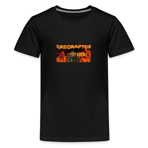 Firecrafterxhd merch - Teenager Premium T-Shirt