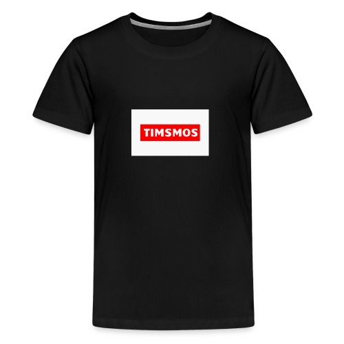 Timsmos Logo Youtube - Premium-T-shirt tonåring