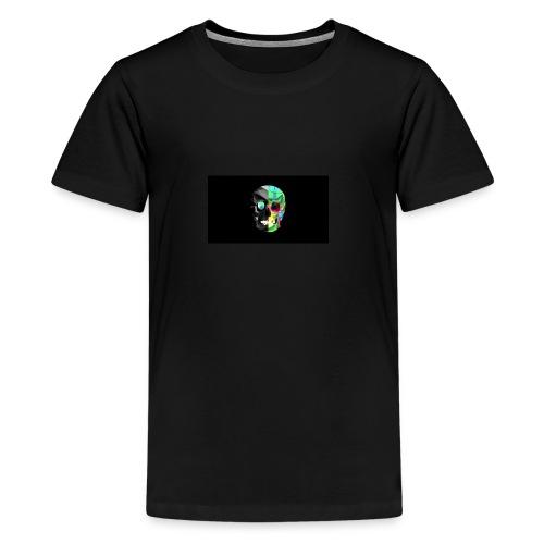 skeleton official logo - Teenage Premium T-Shirt