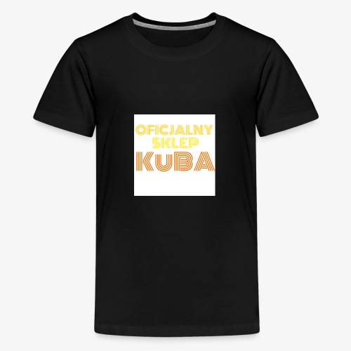 KuBA - JESTEM FANEM I NOSZĘ TO Z DUMĄ - Koszulka młodzieżowa Premium