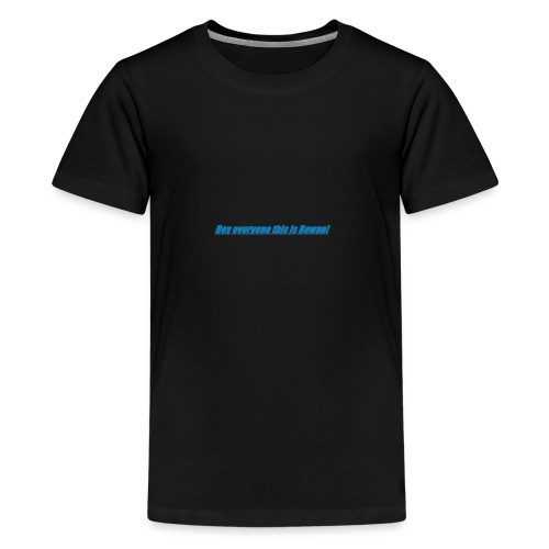 Rowan's intro!!1 - Teenage Premium T-Shirt