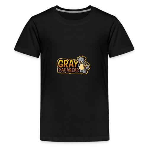 GrayPapaBear - Teenager Premium T-Shirt