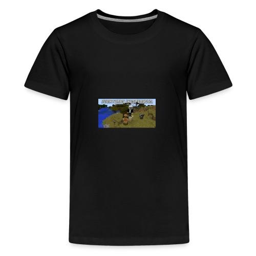 minecraft - Teenage Premium T-Shirt