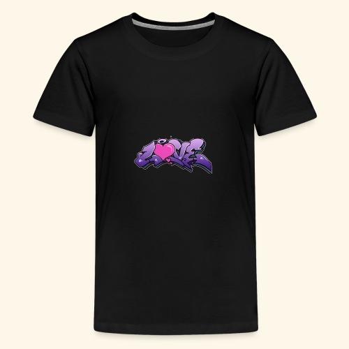 grafiti desing - Teenager Premium T-Shirt