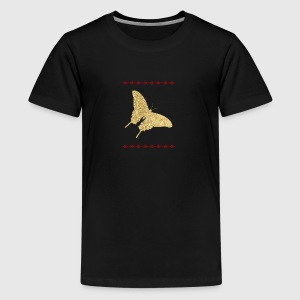 Shirt Papillon d'or - T-shirt Premium Ado