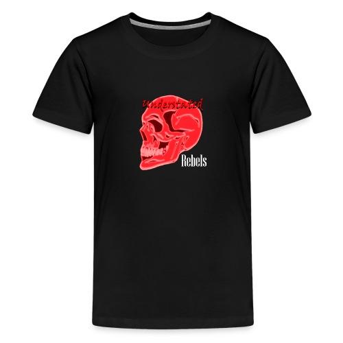 Signature Logo Black - Teenage Premium T-Shirt