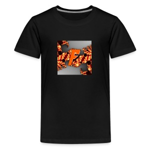 Mystical Foxes märket - Premium-T-shirt tonåring