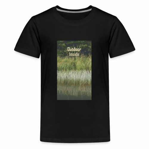 Outdoor Inside - Teenager Premium T-Shirt